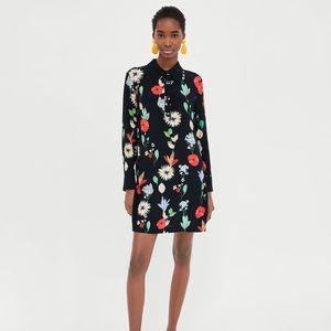 Zara Mini Dress With Print